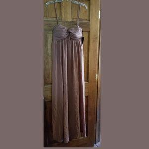 Mom2mom maternity dress removable straps size lrg